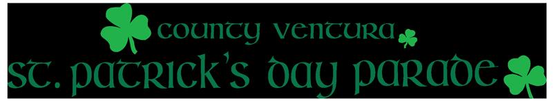 Logo County Ventura St. Patrick's Day Parade