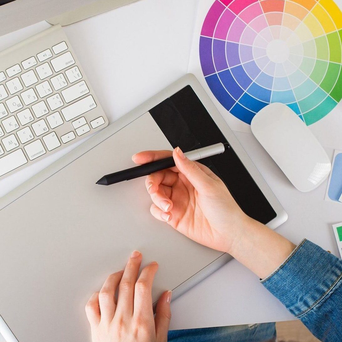 graphic design at Whisenhunt Communications PR and Marketing Firm