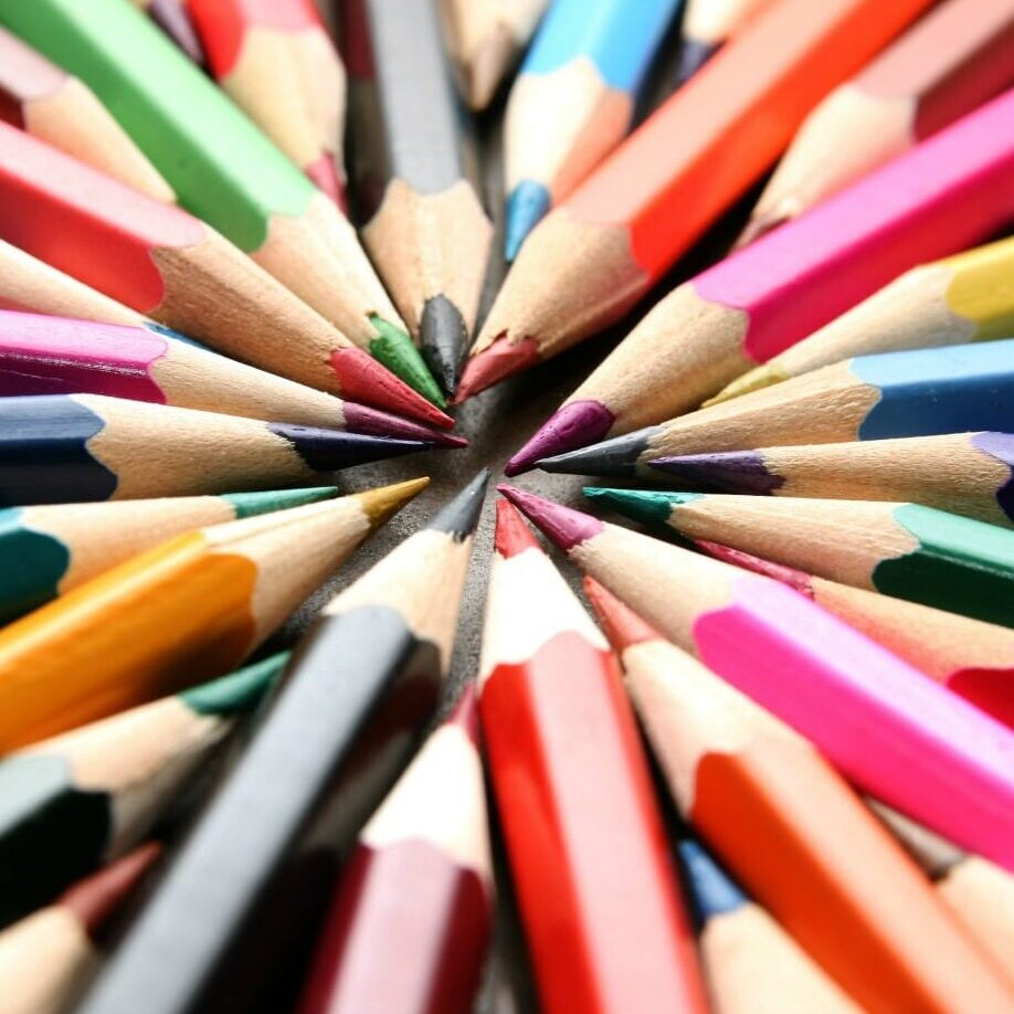 pencils - graphic design at Whisenhunt Communications PR and Marketing Firm
